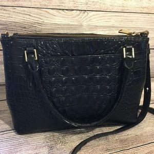 Brahmin Bags - BRAHMIN Croc Leather Small Lincoln Satchel